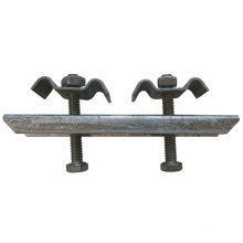 HDG Double Grating Saddle Clip Fastener Clamps