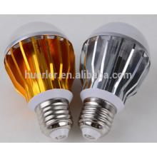 5leds 5W ce rohs 2 years warranty aluminum e26/b22/e27 led light bulb