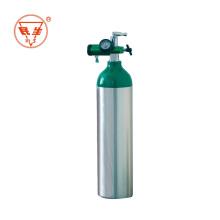 Bouteille de gaz sans soudure de 40L remplissant du gaz d'oxygène
