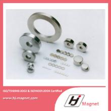 Alta potência personalizado ímã anel certificada pela ISO14001
