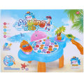 Eductional Shark Shape Electric Play House Fish Table Toy