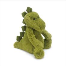 Зеленые игрушки плюша динозавра
