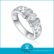 2015 Newest Open Style 925 Sterling Silver Ring Design (R-0418)
