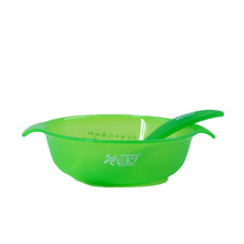 Disposable kids cutlery PP PS plastic bowl and spoon