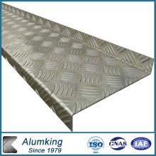 Panel de aluminio a cuadros de diamante 1050/1060/1100 para instalaciones eléctricas