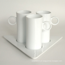 Porcelana Coffee Cup Set, Estilo # 672