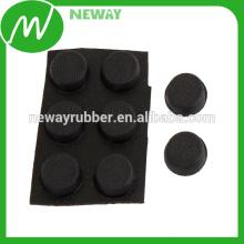 Personalizar alta calidad y baratos goma protectora adhesiva almohadillas