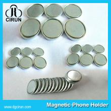 Imán monopolar barato del neodimio de la forma del disco del diámetro 15m m 12m m 10m m del precio barato para la venta