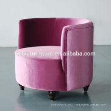 Round coffee shop hotel chair XYD248