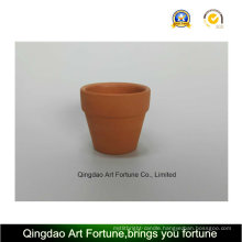 Outdoor-Natural Clay Ceramic Candle Holder - Small
