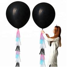 Gold Geschlecht zeigen Konfetti Ballon Kits