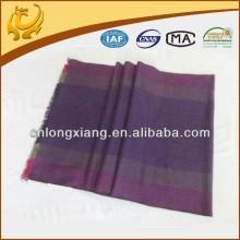 2015 autumn style 100% silk two tone scarf
