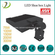 75W LED Shoe Box Light with Meanwell Driver