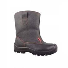 Лучшая продавая PU / кожа Стандартная безопасность Рабочая промышленная обувь