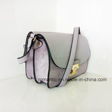 Trendy PU Lady Handbags Brand Designer femme sac à main en peluche (Z-014)