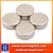 Bar ndfeb magnet / neodymium kleiner zylinder magnet / runder starker magnet mit dicke