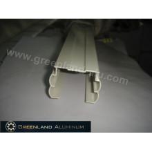 Алюминиевый головной рельс для оконных вертикальных жалюзи