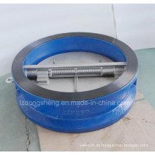 Ductile Iron Wafer Rückschlagventile Dual Flap Pn 25