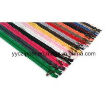 3# Open End Colorful Long Nylon Zipper for Kid′s Garments