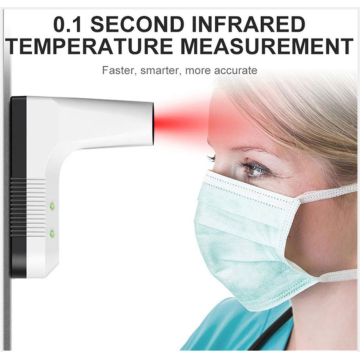 Thermomètre frontal Thermomètre infrarouge numérique sans contact