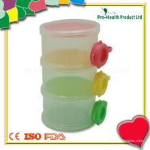 3-слойный пластиковый контейнер для детского молочного порошка