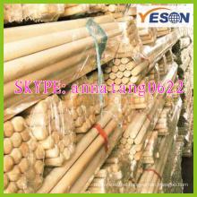 broomstick 22mm*1200mm/house cleaning mop handle/broom floor handle