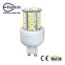g9 led bombilla cálida luz blanca