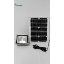 Iluminación al aire libre portátil del LED que acampa el reflector solar