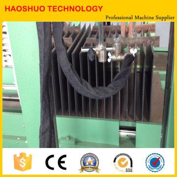 Máquina de soldadura de aletas corrugadas