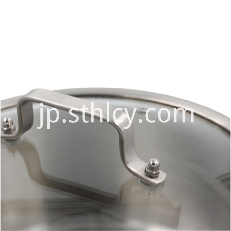 Household Stainless Steel Titanium Pan