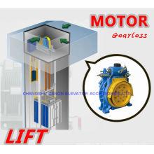 350-450KG ímã permanente síncrono Gearless elevador máquina