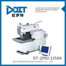 DT-299U 1350A Máquina de ojo de cerradura con orificios electrónicos (corte antes de coser o coser antes de cortar)