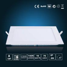 Luz de painel de LED 15W 190 * 190 * 16mm
