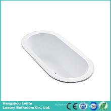 Factory Cheap Acrylic Bulit- in Tub (LT-2P)