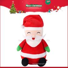 2017 Natal De Pelúcia Big Musical Papai Noel Boneca para Presente