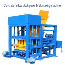 QTF4-25 bajo precio máquina de moldeo de bloques de cemento hidráulico totalmente automático en Ghana