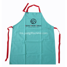 Custom Cotton Cotton Aprons W / Logo