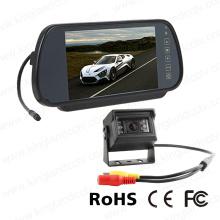 Sistema del monitor del espejo del coche 7inch con la mini cámara video