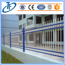 Square tube tubular Garrison fence