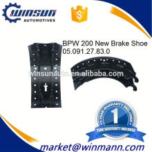 OEM No. 0509127830 Truck Trailer BPW 200 Brake Shoe