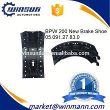ОЕМ № 0509127830 прицепа BPW по 200 Тормозная колодка