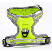 Double-layer adjustable breathable vest strap for outing pets