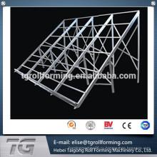 Хэбэй PV поддержка солнечной фотогальванической рамы машины стальной профильной машины для формирования профилей с полной гибкостью обработки