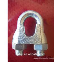 Galvanizado maleável Din741 cabo Clip - Qingdao aparelhamento