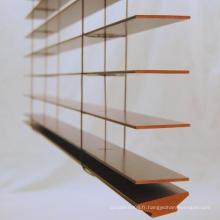 Stores de fenêtre de Basswood (SGD-W-5160)
