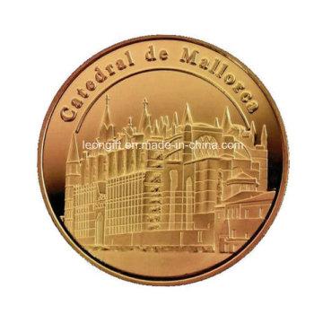 Ремесло подарок 3D логотип Challenge монеты оптом