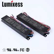 Quality 2-output white tunable dc 24v 75W metal case 1100mA led light driver