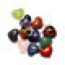 Полудрагоценный камень Кристалл Кварц Аметист Сердце подвеска