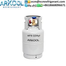 Refrigerant gas R1234yf for car air condition system
