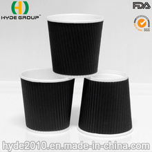 4 Oz Biodegradable Corrugted Wall Coffee Paper Cup